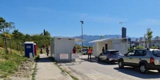 TESTIRANJE NA TURSKOJ KULI Drive in testiranje preselilo iz luke