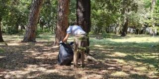 Akcije čišćenja na području značajnog krajobraza Prološko blato i spomenika parkovne arhitekture Garagnin-Fanfogna