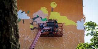 VIDEO: 200 kvadrata šarenog murala za veseli, optimistični Split