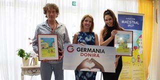 KAD DJECA PJEVAJU TONČIJU Germania Sport i slavni glazbenik obradovali mališane iz Doma 'Maestral'