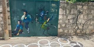 FOTO/VIDEO: U Varošu otvoren mural posvećen Tomi Bebiću