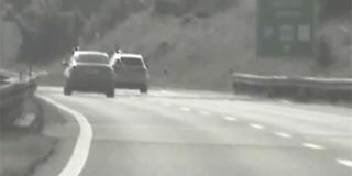 VIDEO: Maminim BMW-om na autocesti A1 vozio 254 km/h
