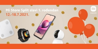 Xiaomi slavi prvi rođendan Mi Storea u Splitu