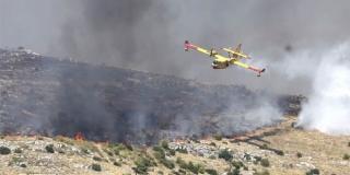 JOŠ NIJE POD KONTROLOM Stanje požara kod Segeta je bolje nego prije, nema opasnosti