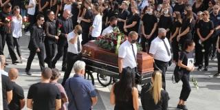 TUGA NA LOVRINCU Splićani na posljednje počivalište ispratili Žanu Lelas