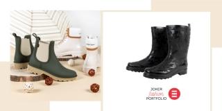 JOKER FASHION PORTFOLIO Gumene čizme - chic dame za kišne dane!