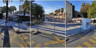 PRIPREMA ZA RADOVE Konačno uređenje okoliša Turističke palače