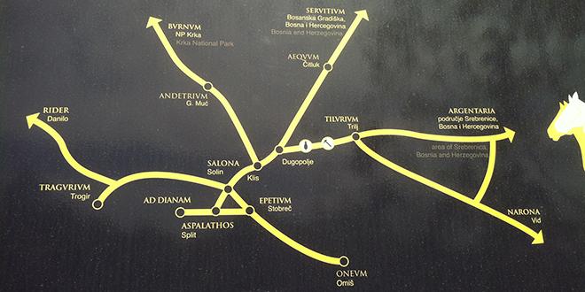rimske ceste u dalmaciji