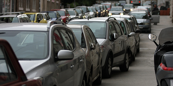 PARKIRANJE U ŠIBENIKU Od 39 prekršaja za nepropisno parkiranje, čak 33 su bila zbog mjesta za osobe s invaliditetom