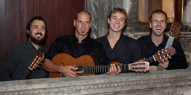 Splitski gitaristički kvartet nastupa u Njemačkoj i Luksemburgu