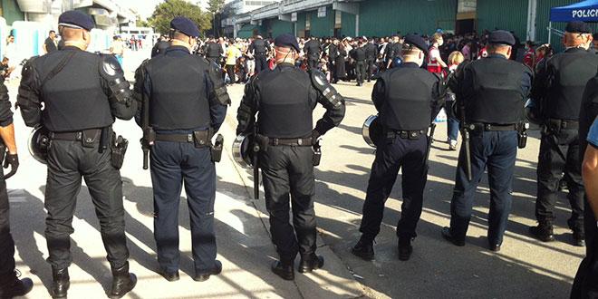 IZVJEŠĆE POLICIJE U Splitu jučer uhićena 23 Hrvata i Mađar, noć je protekla mirno