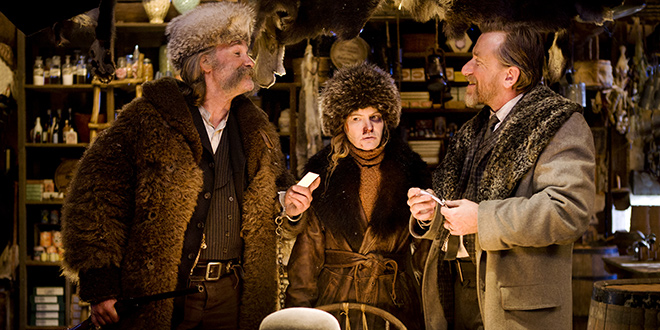 'Mrska osmorka' je još jedan tipičan Tarantinov film