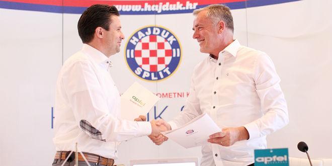 Suradnja Apfela i Hajduka: Nazdravite pobjedama iz novih čaša s logom 'bijelih'!