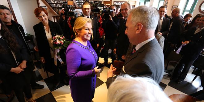 Predsjednica odlikovala Redom Danice hrvatske s likom Marka Marulića čak šest Splićana