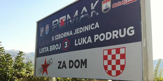 Podrug: Namjerno smo na plakat stavili 'Za dom' i hrvatski grb s prvim bijelim poljem, želimo isprovocirati reakciju!