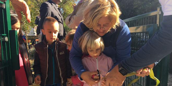 Edo, Marija, Ian i Lota otvorili dječje igralište na Skalicama