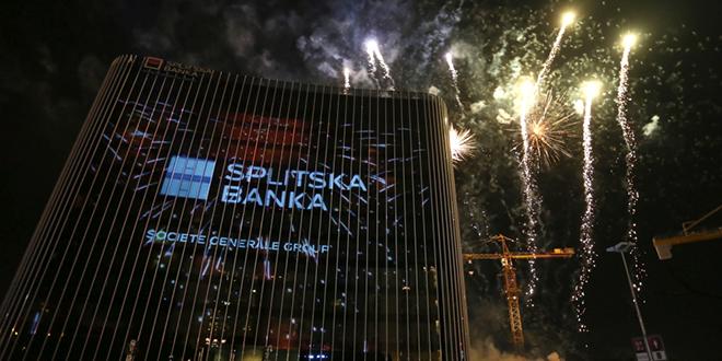 Ta divna splitska noć: Preseljenje u toranj West Gate za novu eru poslovanja Splitske banke