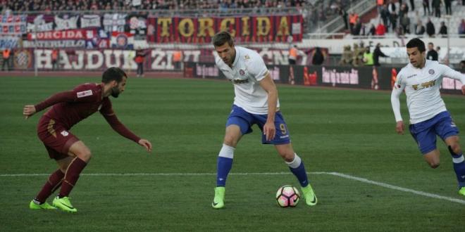 DUPLIN OSVRT: Hajduk borben i agresivan, Futacs prvo ime utakmice