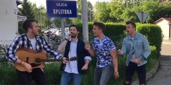 VIDEO Mladi zagrebački bend čestitao Splićanima blagdan Svetog Dujma