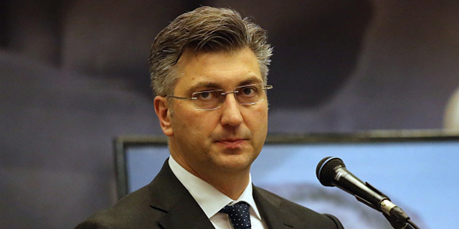 Plenković: Ako se Škori ne sviđa HDZ, neka se učlani i pobijedi, ako može