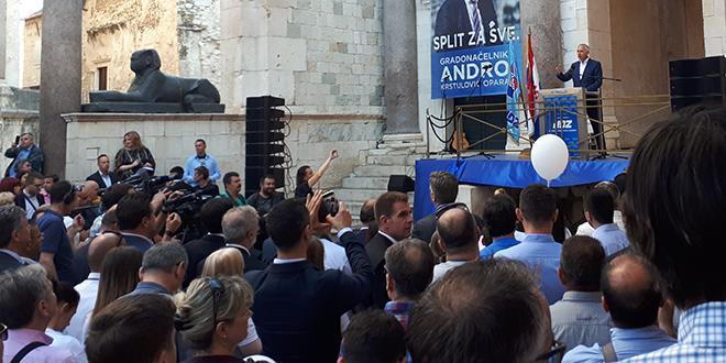 Andro Krstulović Opara: Želim biti gradonačelnik zbog kojega se nećete morati crvenjeti ili ispričavati što ste iz Splita!