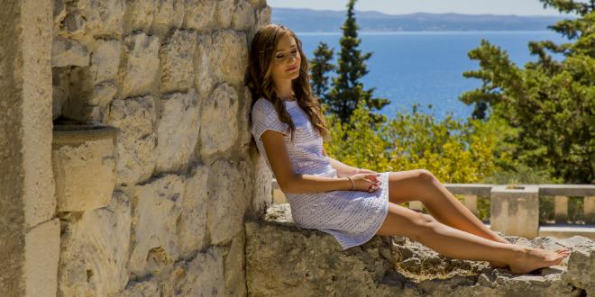 Marissa Gović, američka teen zvijezda hrvatskih korijena snima spotove u Splitu: 'Ljepše je nego u Nici i Cannesu, radila sam s vrhunskim profesionalcima'