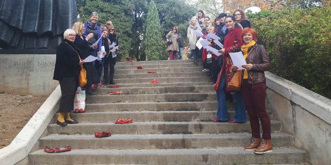 Akcija 'Crvene cipele' održana u Splitu