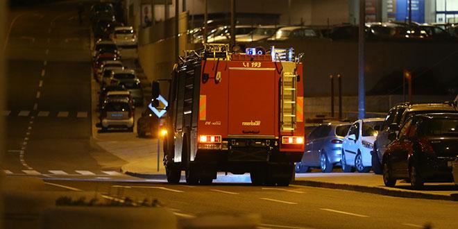 PODMETNUT POŽAR Izgorio građevinski kontejner, šteta oko 100.000 kuna
