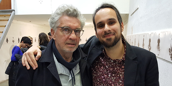 SPORTSKO-UMJETNIČKA OBITELJ: Za Tonija Mijača otvorenje izložbe je bila katarza, a za njegovog oca Željka oduševljenje