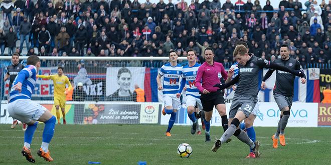 DUPLIN OSVRT: Hajduk je imao hrabar i ofenzivan pristup, ali za pobjedu je trebala bolja igra u fazi obrane