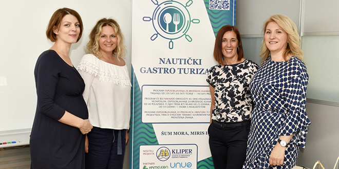 Projekt 'Nautički gastro turizam': Splitski Kliper provest će program kakav ne postoji u Hrvatskoj, a u cijelosti će ga financirati Europski socijalni fond!