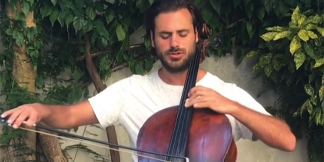 VIDEO: Stjepan Hauser izveo 'Galeba' na Oliverovom pogrebu