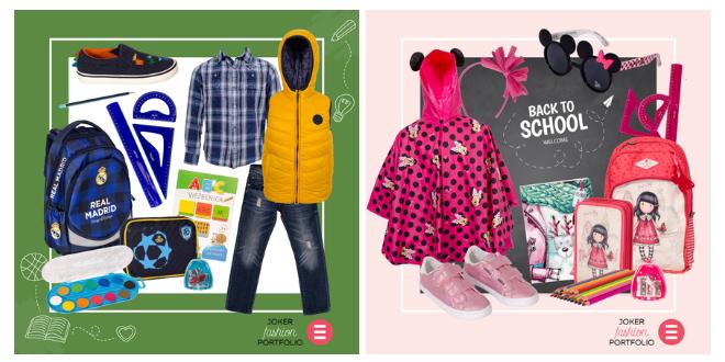 JOKER FASHION PORTFOLIO: Uz povratak u škole, provjerite korisne prijedloge za vaše male školarce!