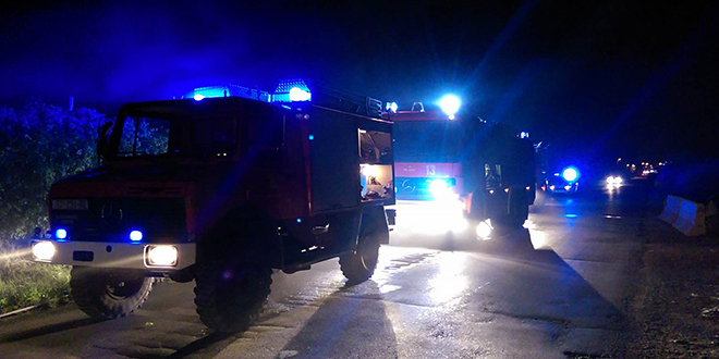 OPET GORJELI KONTEJNERI Vatrogasci intervenirali u centru Splita