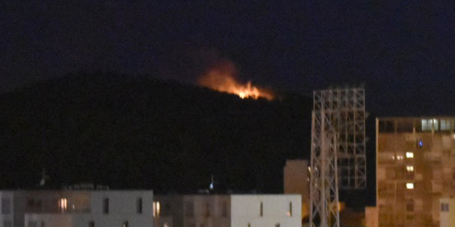 VIDEO Požar na Marjanu je ugašen!