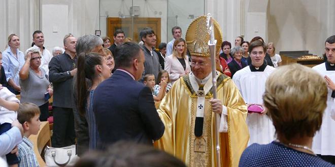 Misnim slavljem nadbiskup Barišić proslavio srebrni jubilej biskupstva