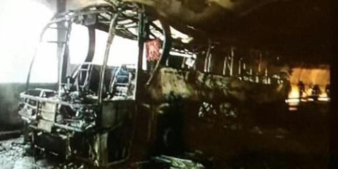 HOROR U TUNELU: Pogledajte što je ostalo od autobusa koji je prevozio splitske srednjoškolce