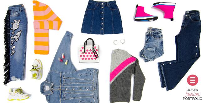 JOKER FASHION PORTFOLIO: Nostalgični proljetni jeans pristigao iz modne povijesti