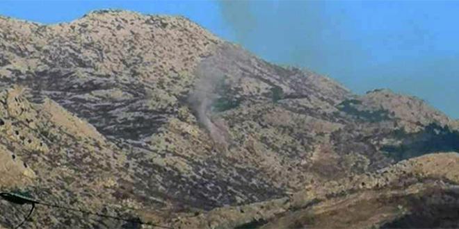 Ugašen požar na Mosoru