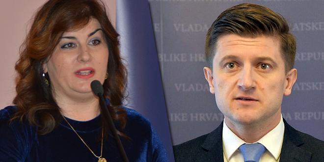 SUKOB INTERESA: Povjerenstvo pokrenulo postupak protiv Žalac i Marića zbog Mercedesa, kredita HBOR-a i karata za utakmicu