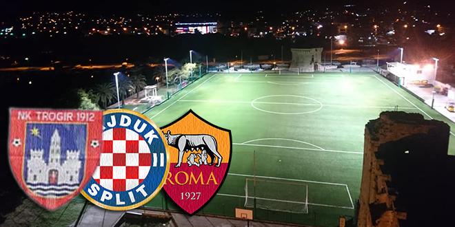 OTVARANJE NOVOUREĐENE BATARIJE: Trogirani feštu otvaraju protiv AS Rome, a navečer protiv Hajduka igraju pod reflektorima!