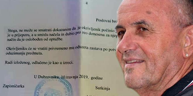 NIJE PREKRŠAJ: HSP-ovci plovili po Neretvi s crnom zastavom i natpisom 'Za dom spremni'