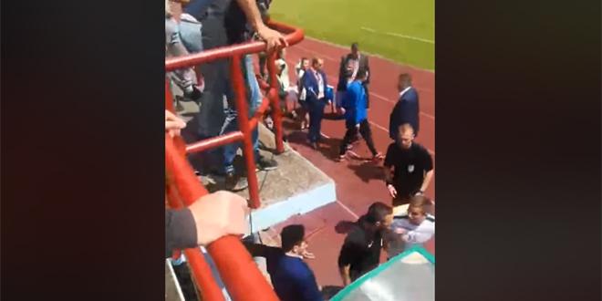 VIDEO INCIDENTA: Pogledajte kako se sudac Vuković nakon utakmice zaletio na Hajdukova pionira