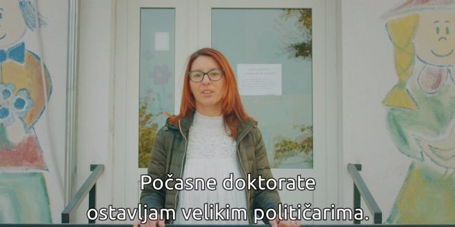 NOVI VIDEO Mala žena iz Trogira prozvala Bandića: Ima posla, ali mladi ljudi ne žele ostati u zemlji u kojoj se tako dijele počasni doktorati