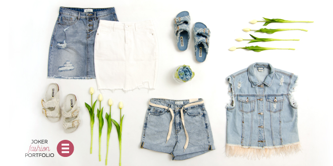 JOKER FASHION PORTFOLIO: Svijetlo, svjetlije - jeans!