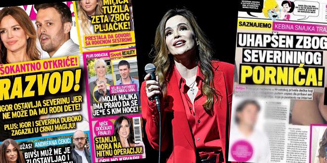 Severina komentirala nove naslove srbijanskih tabloida