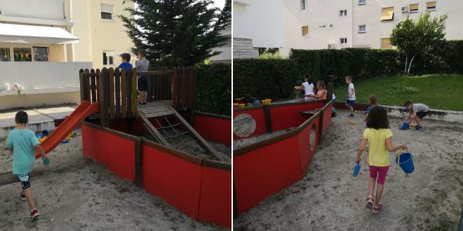 Djeca iz vrtića Mimoza napokon na svom igralištu!
