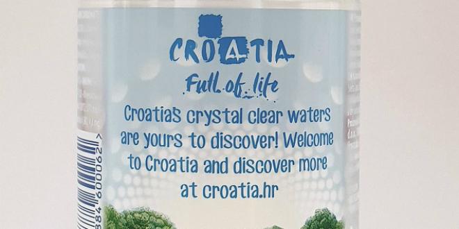 VODA S PORUKOM DOBRODOŠLICE Na graničnim prijelazima HTZ sutra turistima dijeli vodu