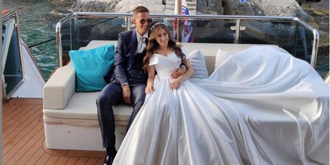 SRETNO, MLADENCI: U bračnu luku uplovio Mario Pašalić