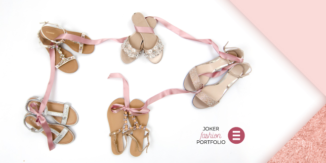 JOKER FASHION PORTFOLIO: Volimo ravne ljetne sandale!